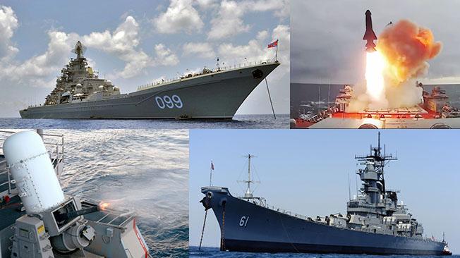 На корм рыбам: как быстро русский крейсер типа «Киров» потопит линкор США типа «Айова»?