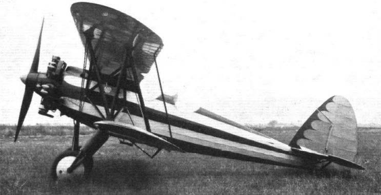 Итальянский истребитель Капрони-113.