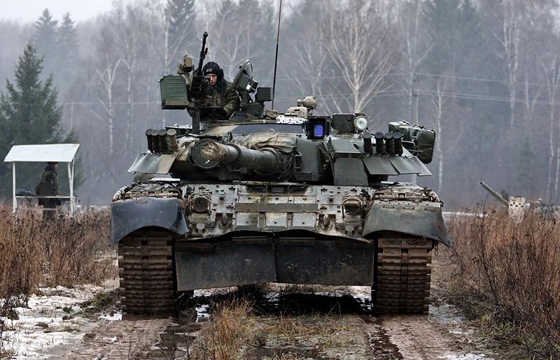 Газотурбинный ОБТ Т-80.