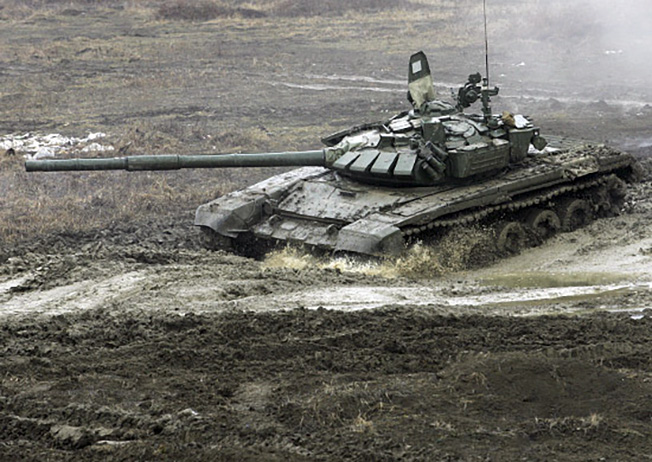 Новейшая версия Т-72 - танк Т-72Б3.