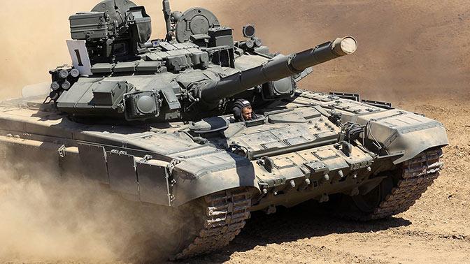 T-90, принятый на вооружение в начале 1990-х годов.
