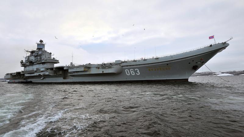 Тяжелый авианесущий крейсер «Адмирал флота Кузнецов».