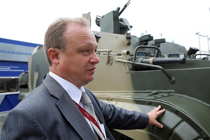 Заместитель главного конструктора «Курганмашзавода» Сергей Чирков.