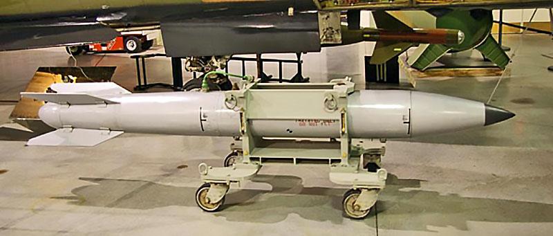 Предполагается, что НАТО в Европе держит более двухсот водородных бомб В61-12.