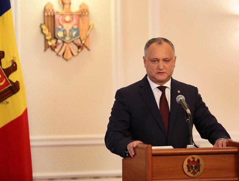 Президент Молдовы Игорь Додон подключился к избирательной кампании.