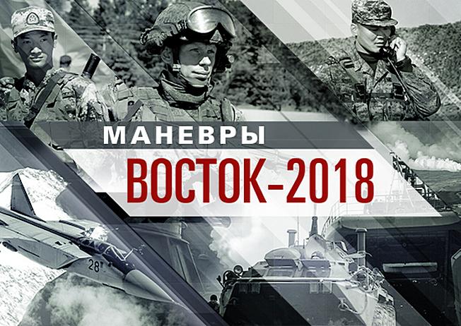 Маневры войск «Восток-2018».
