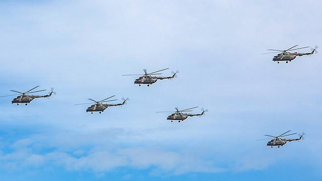 Более 1000 летательных аппаратов будет задействовано в учениях.