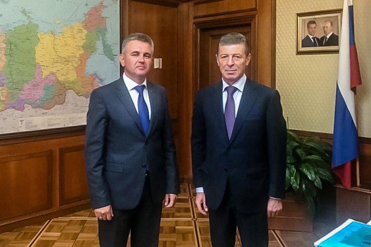 В Москве состоялась встреча Дмитрия Козака с президентом Приднестровья Вадимом Красносельским.