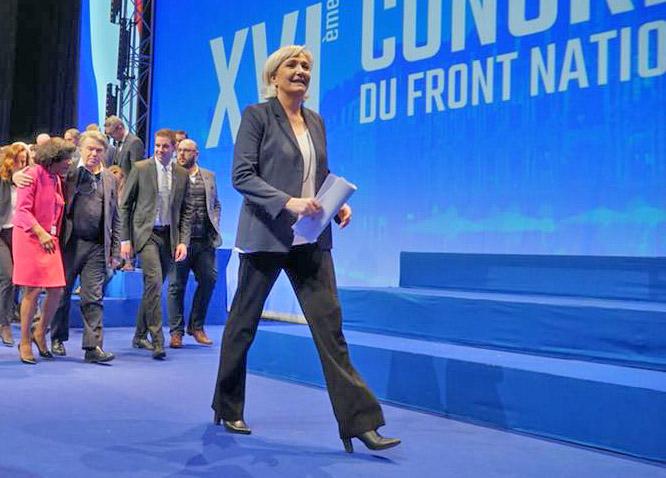 Марин Ле Пен - лидер французского «Национальногофронта».