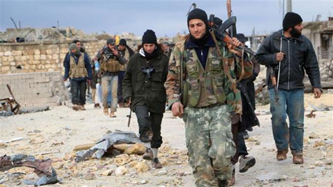 Боевики Сирийской свободной арабской армии.