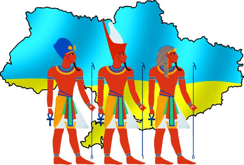 Исход украинцев из незалежной в Египет.