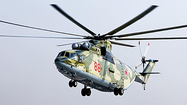 Ми-26: на что способен самый тяжелый в мире винтокрылый гигант