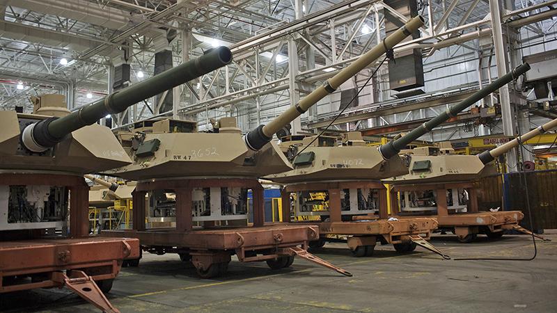 Бронетанковый завод в Огайо.