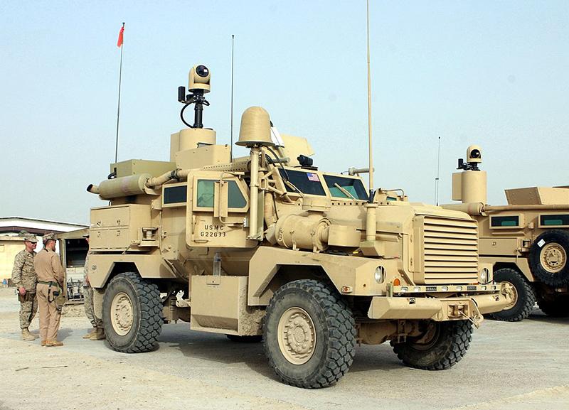 Бронетранспортер Cougar H в Афганистане.