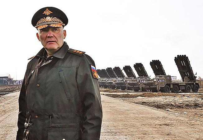 Генерал-полковник Александр Дворников.