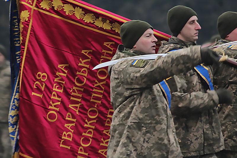 Подразделение 128-й Закарпатской горно-пехотной бригады будет размещено в Берегово.