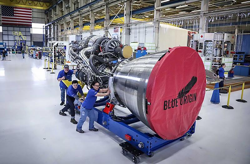 Американский двигатель BE-4.