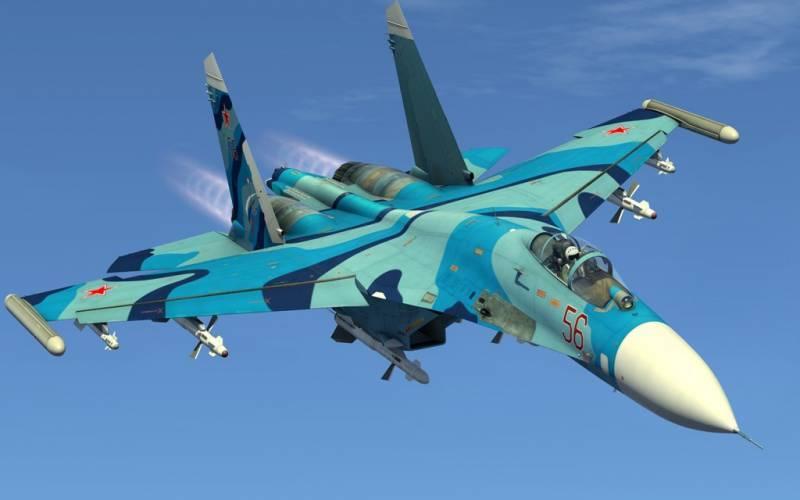 Су-27М.