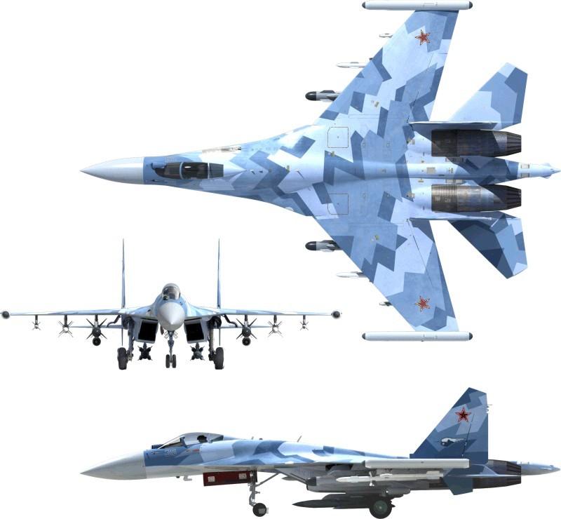 Су-35С: хорош со всех сторон.