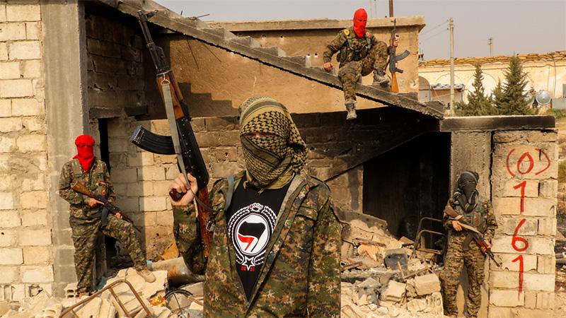 Боевики из «Джебхат-ан-Нусра».
