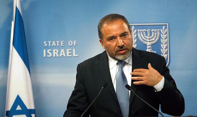 Министр обороны еврейского государства Авигдор Либерман.