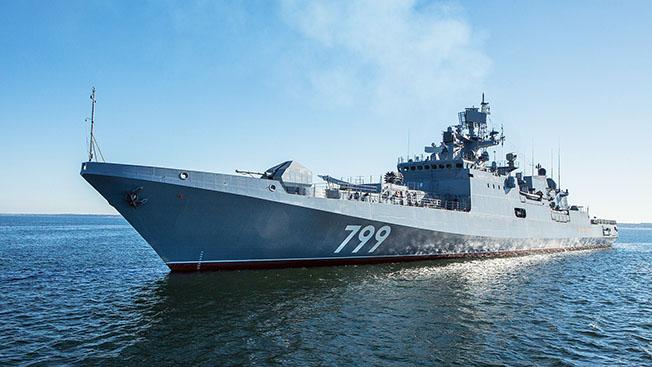Фрегат Адмирал Макаров.