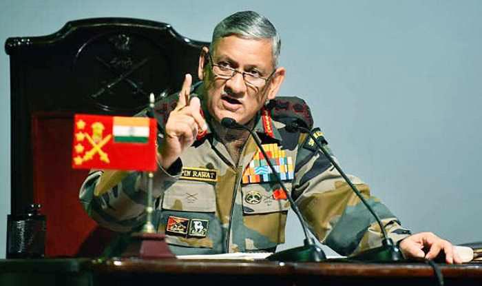 Начальник штаба сухопутных сил Индии генерал-лейтенант Бипин Рават.