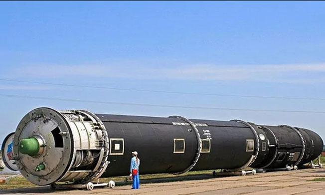 Ракетный комплекс «Сармат».