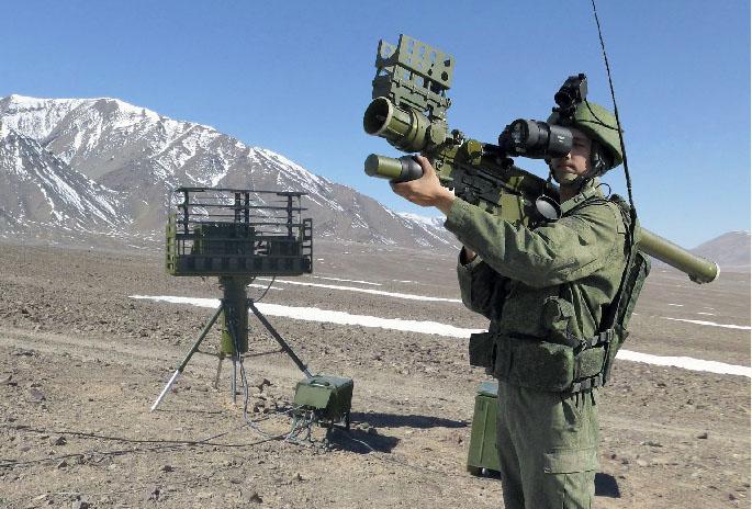 Для того чтобы увидеть цель, переносному зенитно-ракетному комплексу «Верба» необязателен визуальный контакт.