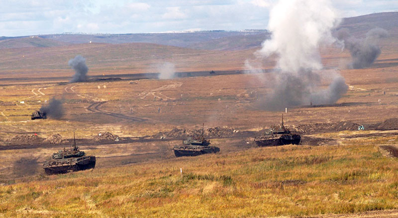 Активная фаза военных учений «Восток-2018».
