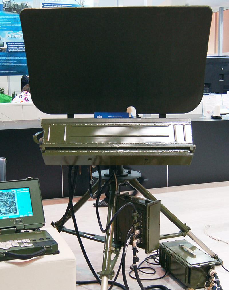 Переносной радиолокационный комплекс разведки «Аистенок».
