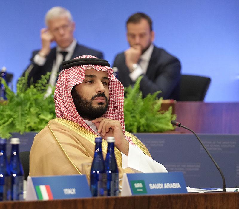 Наследный принц Мухаммед бен Сальман.