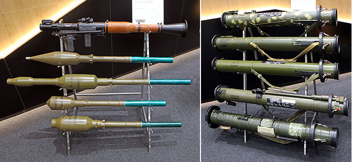 Гранаты и гранатометы на стенде концерна «Техмаш».