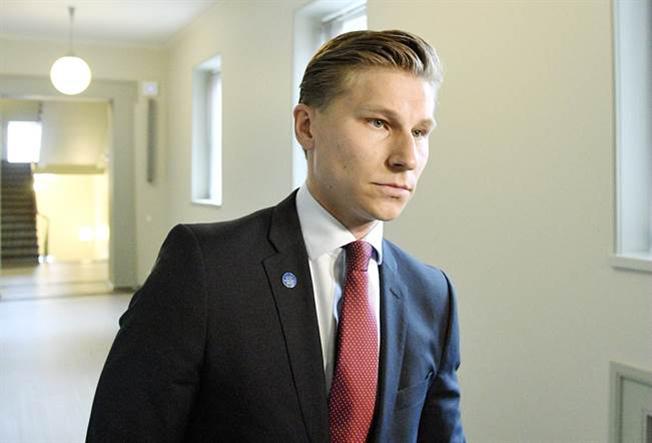 Министр юстиции Финляндии Антти Хяккянен.
