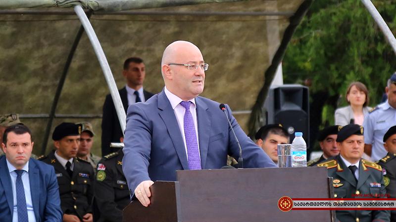 Министр обороны Грузии Леван Изория.