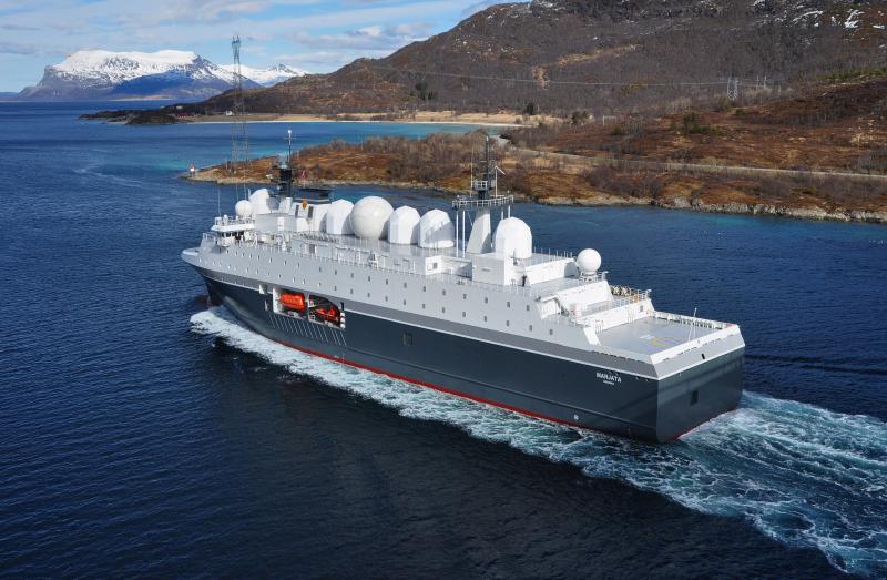Корабль разведки «Марьята».