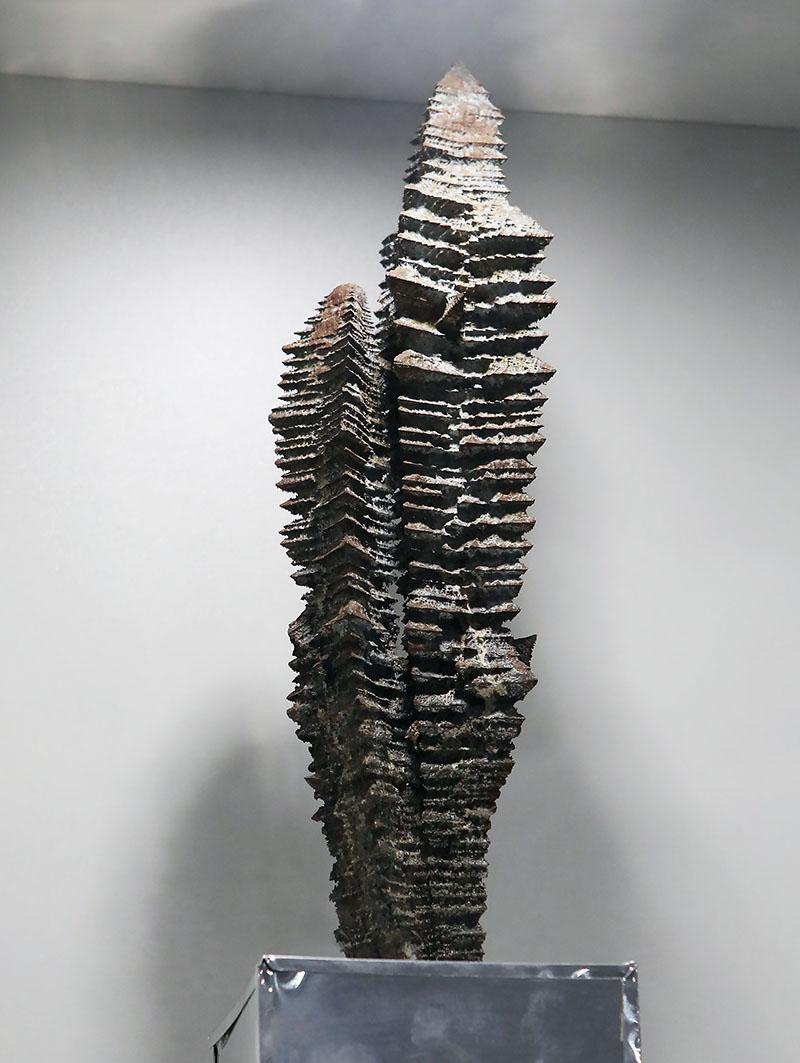 Уникальный стальной кристалл Чернова.