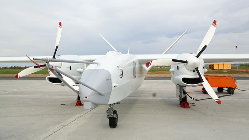 «Альтаир»– российский многоцелевой беспилотный летательный аппарат, спроектированный НПО «ОКБ им. Симонова».