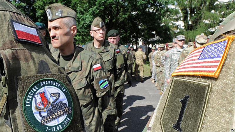 Американские войска в Польше.