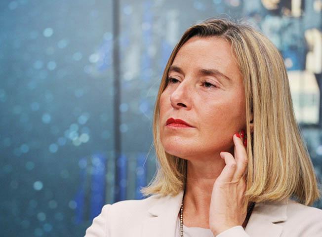 Верховный представитель Европейского союза по иностранным делам и политике безопасности Европейского Союза Федерика Могерини.