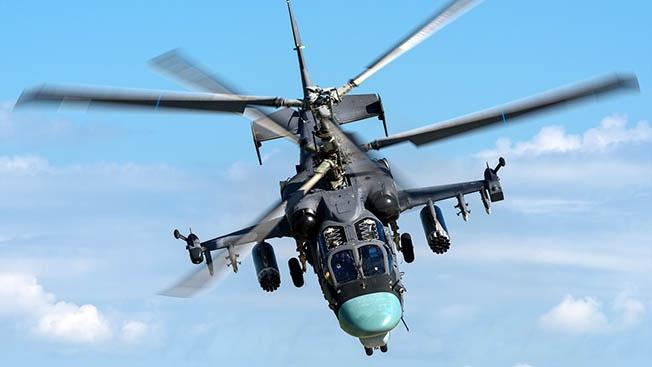 Ка-52: самый «зубастый» вертолет России прошел проверку боем в Сирии