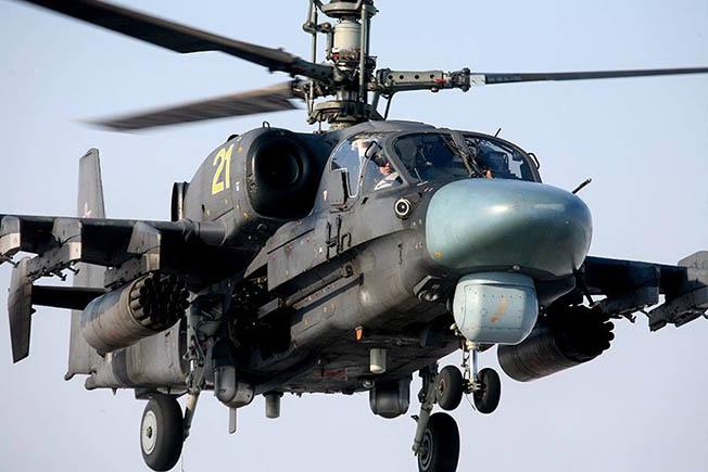 Боевой универсал от фирмы «Камов» - Ка-52.