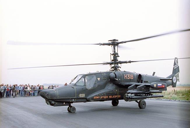 Боевой вертолет Ка-50 «Черная акула» опередил свое время.