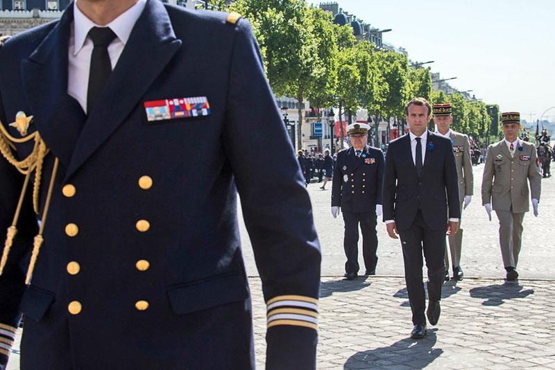 Эмманюэль Макрон публично вернул на повестку дня проект армии Евросоюза.