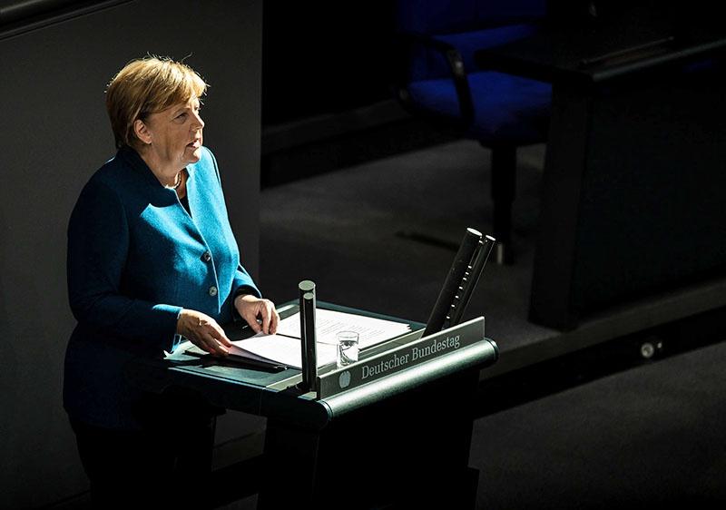 Ангела Меркель объявила, что не будет выдвигать свою кандидатуру на пост председателя Христианско-демократической партии (ХДС)
