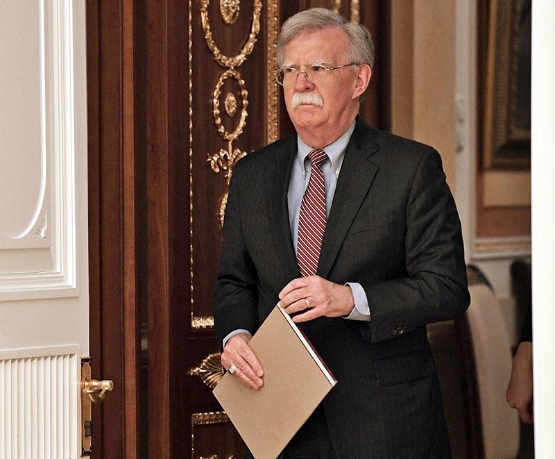 Помощник президента США по нацбезопасности Джон Болтон - фигура речи.