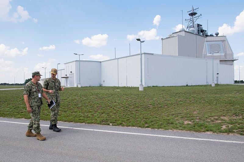 Военная база США в Румынии.