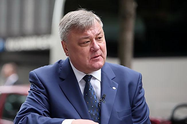 Вице-президент российского Союзмаша Валентин Гапанович.