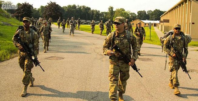 5 тысяч военнослужащих направлено на границу с Мексикой.