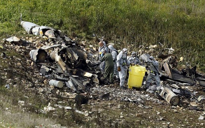 F-16 ВВС Израиля был сбит то ли С-200, то ли ЗРК «Бук».